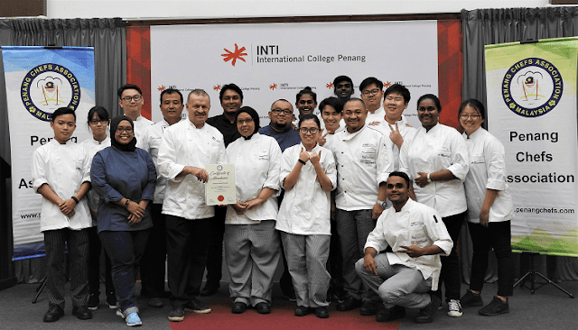 Culinary Workshop By Master Chef Dr Rick Stephen, INTI International College Penang,