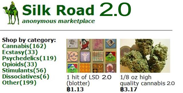 Chợ đen Silk Road là nơi buôn bán ma túy trực tuyến