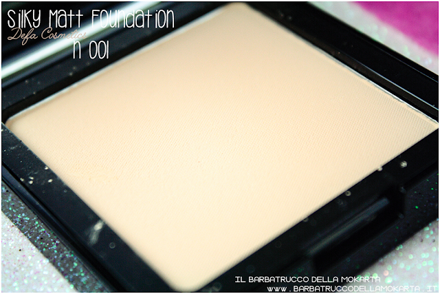 001 Silky Matt Foundations Defa Cosmetics Fondotinta vegan review
