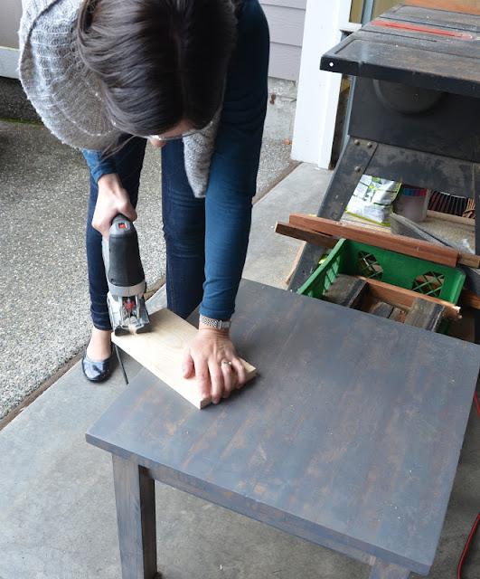 making a bread board