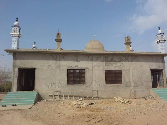 Akhund baba Shrine