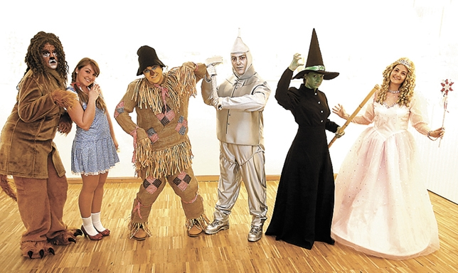 5º Merche : DISFRACES PARA 5º B. El Mago de Oz.