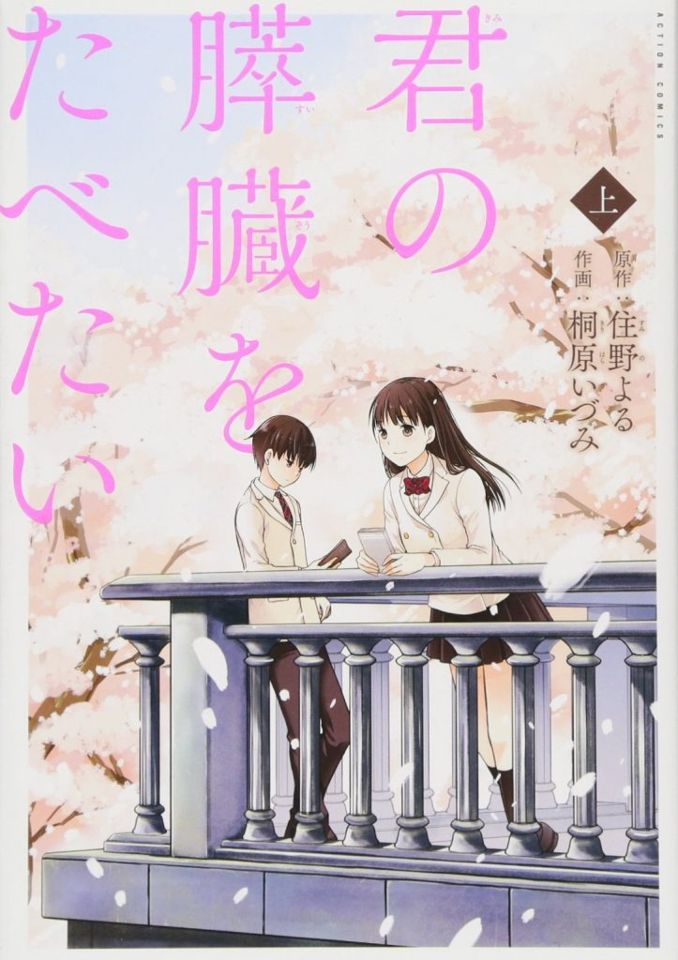 Let me eat your pancreas manga