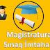 Magistratura Sınaq İmtahanı. Online Test