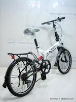 4 Sepeda Lipat FOLD-X  TOKYO  Dual Suspension 20 Inci