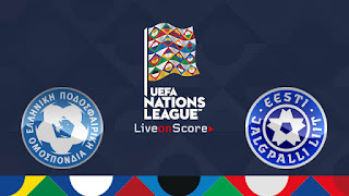 Watch Greece vs Estonia Live Streaming Online Today 18-11-2018 UEFA Nations League