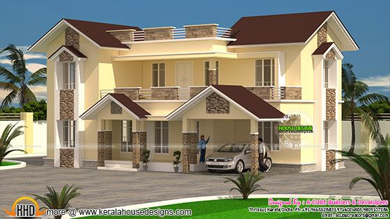 Home design Kerala