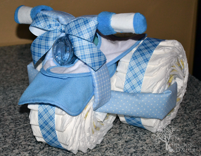 Tricycle Diaper Cake Tutorial This Is Just Too Piggin