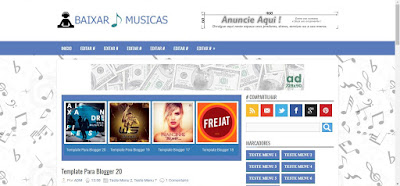 Template Blog Download Musicas Cds Completos