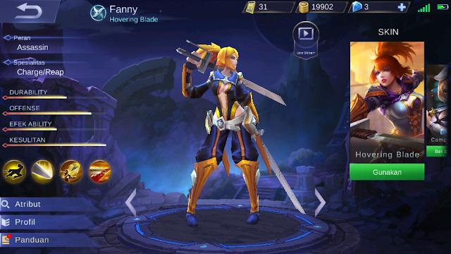 Fanny Mobile Legands