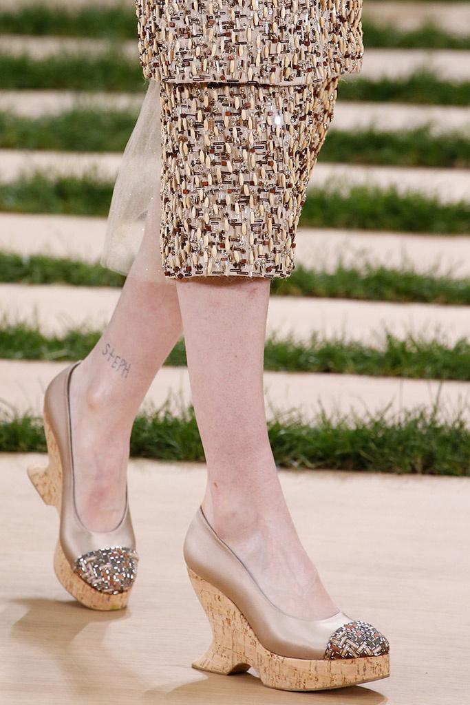 Detalles Zapatos Chanel