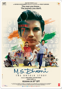 M.S. Dhoni The Untold Story 2016 Hindi 200MB