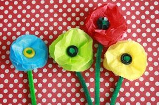 membuat kerajinan dari kertas minyak,kreasi bunga dari kertas minyak,kerajinan bunga dari kertas,cara membuat bunga dari kertas warna,bunga dari kertas hvs bekas,cara membuat bunga yang mudah,