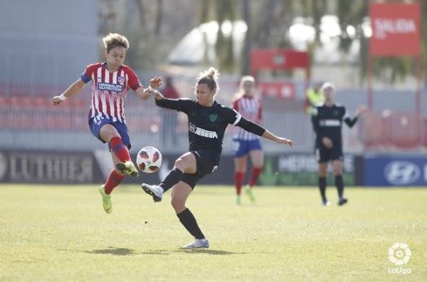 El Málaga Femenino cae luchando contra el Atlético Femenino (4-1)