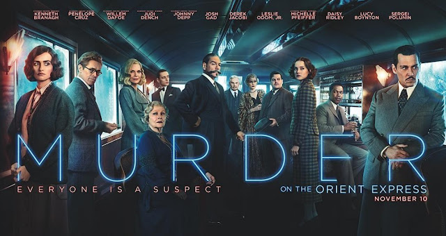 The trailer of star studded mystery movie 'Murder on the Orient Express' has finally been released Movie Poster