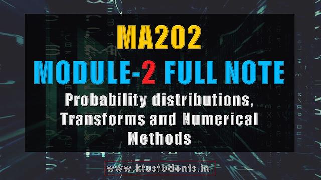 ma202 module 2 ful note