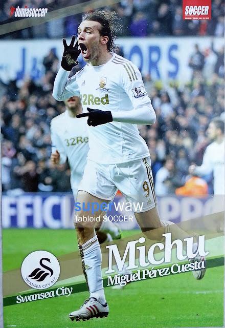Michu Swansea City