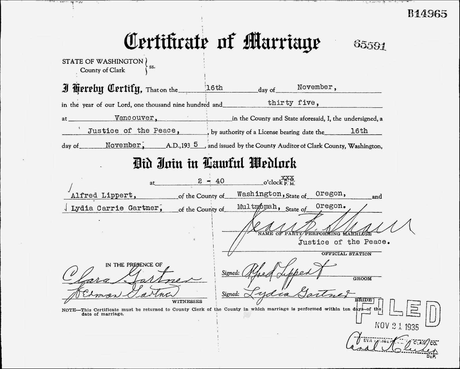 Millican carrara lippert et al genealogy blog lippert weddings