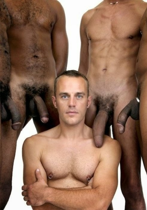Black gay extra large and shaved hairless 4