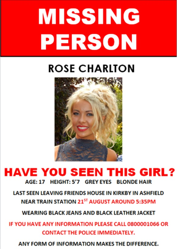 Elle Lewin AS Media  Missing Poster Prop - make a missing person poster