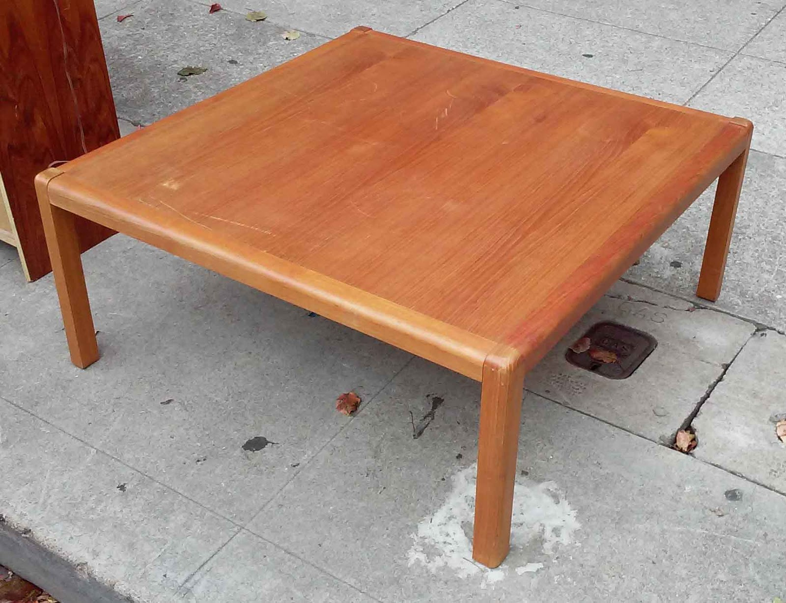 50 Square Coffee Table Uhuru Furniture And Collectibles Sold 40 Quot Square Teak