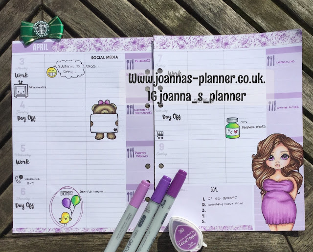 planner-decorated-joanna-faery-ink
