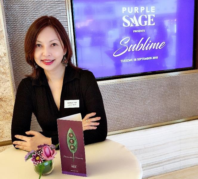 purple sage media event luxury haven lifestyle influencer