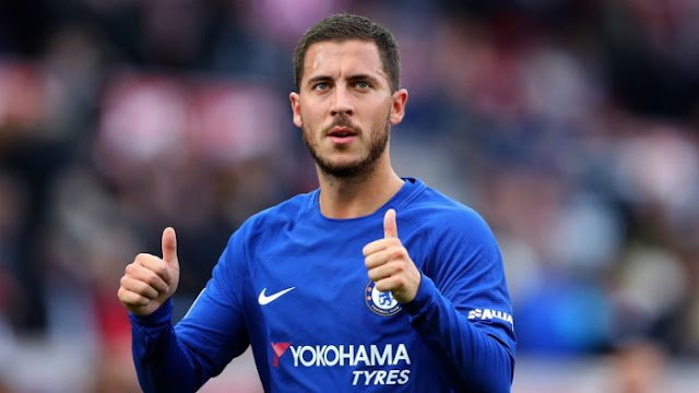 UPDATE! Chelsea Star Hazard To Hand In Transfer Request To Join Real Madrid