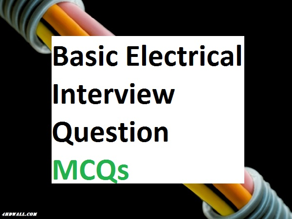 Electrical Engineering MCQ Multiple Choice Questions and Answers 31