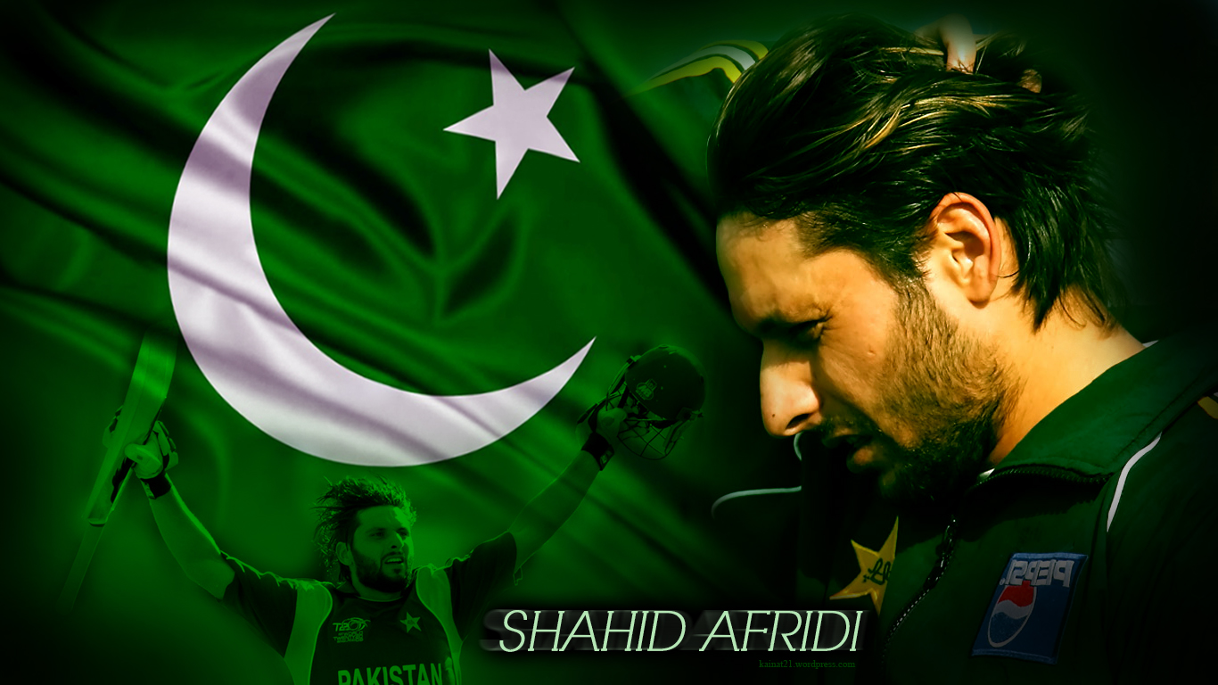All Sports HD Wallpapers: Shahi Afridi Hd Wallpapers