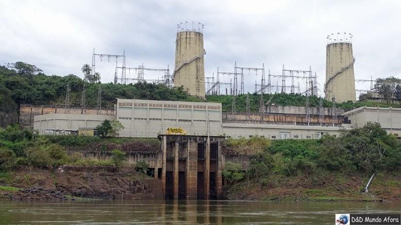 Usina de Acaray - Paraguai - Passeio Encontro das Águas