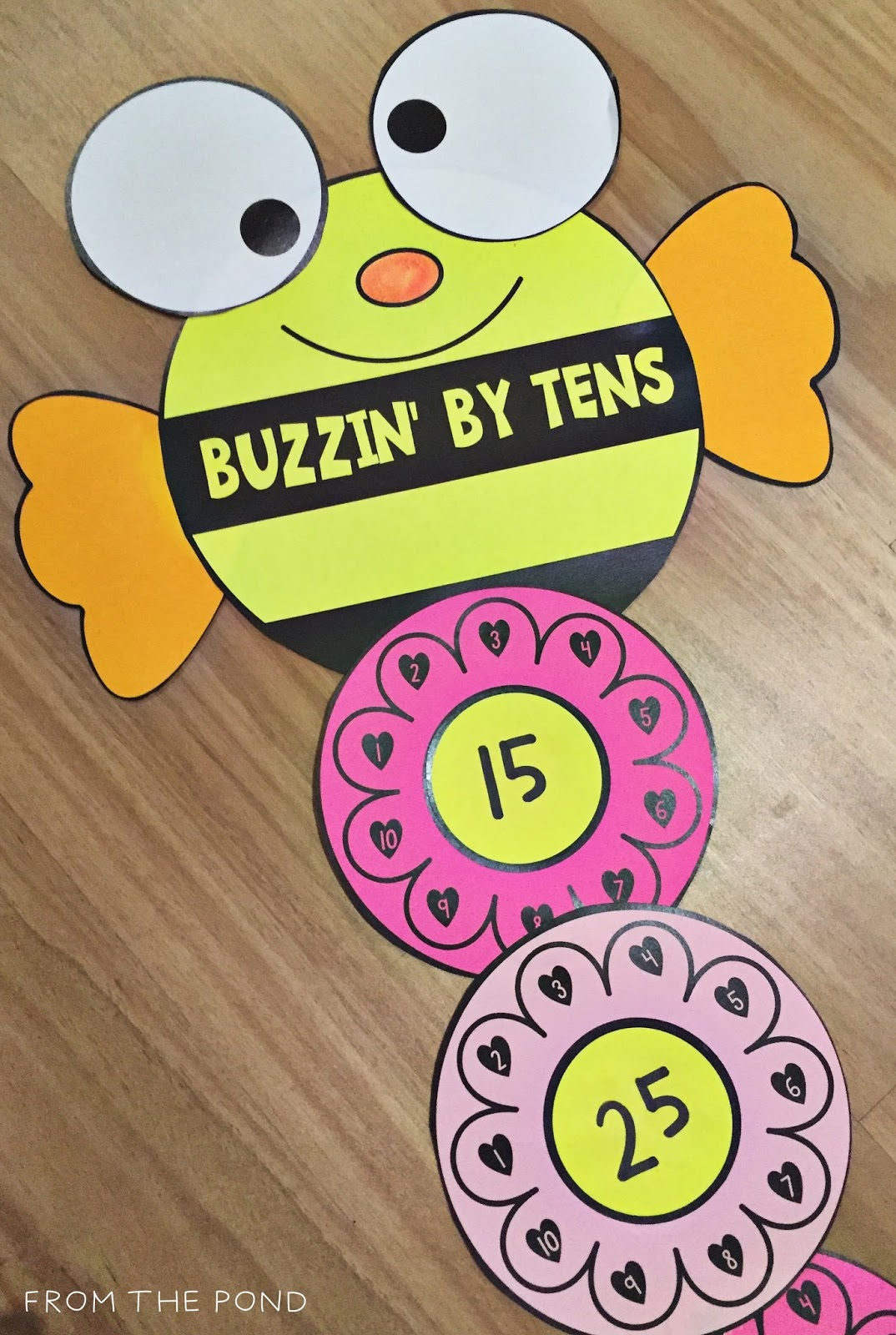counting by tens frog spot