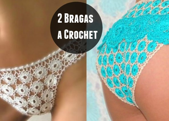Como hacer Bragas con Circulos Crochet