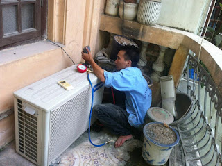 Nạp gas điều hòa HITACHI tại Hà Nội