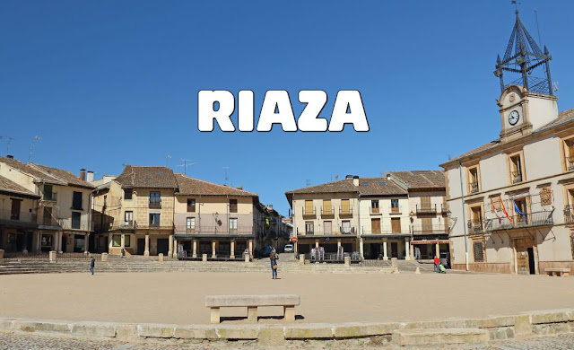 Riaza y su peculiar Plaza Mayor