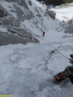 zamberlan Eiger , fernando calvo guia de alta montaña uiagm