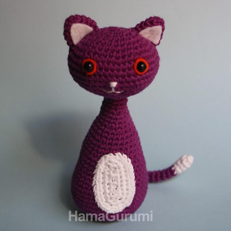 Gato de Amigurumi