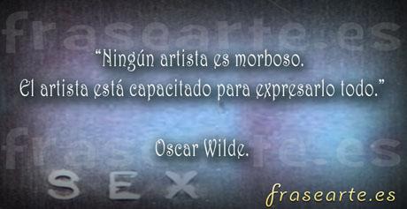 Frases de Oscar Wilde sobre el arte