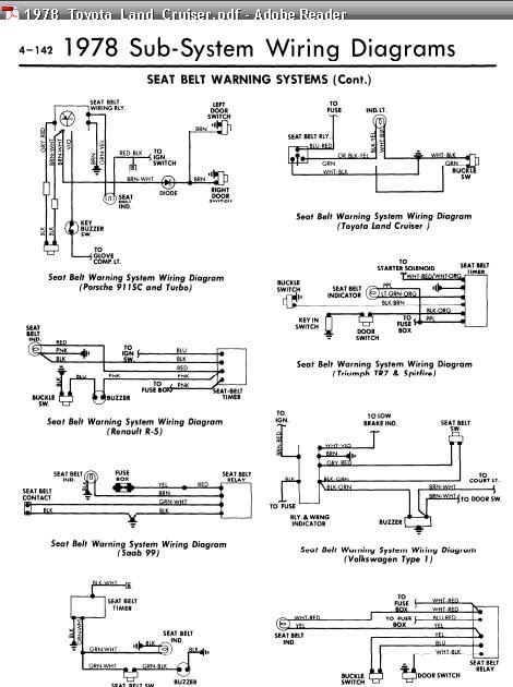 Allmodels Seatbeltwarning Wiringdiarams on Home Electrical Wiring Diagrams