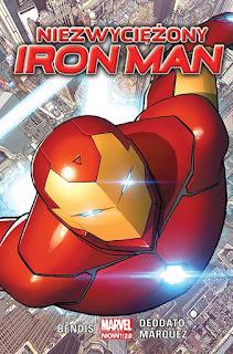 Niezwyciężony Iron Man okładka