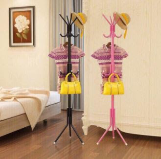 cây treo quần áo thông minh 2 tầng 4 móc cong