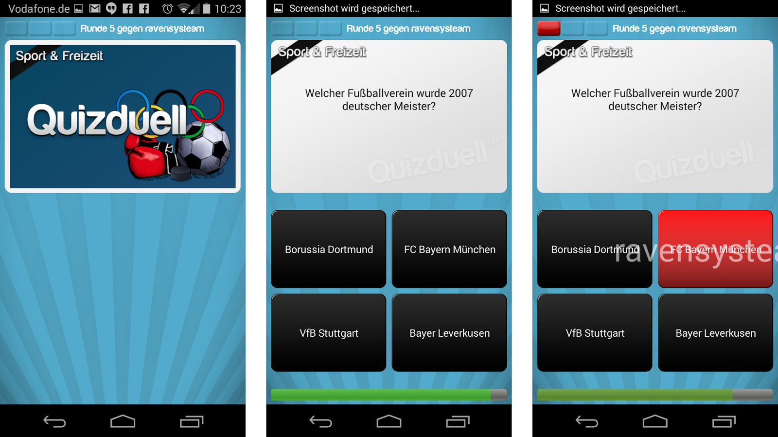 Trainingslager Quizduell