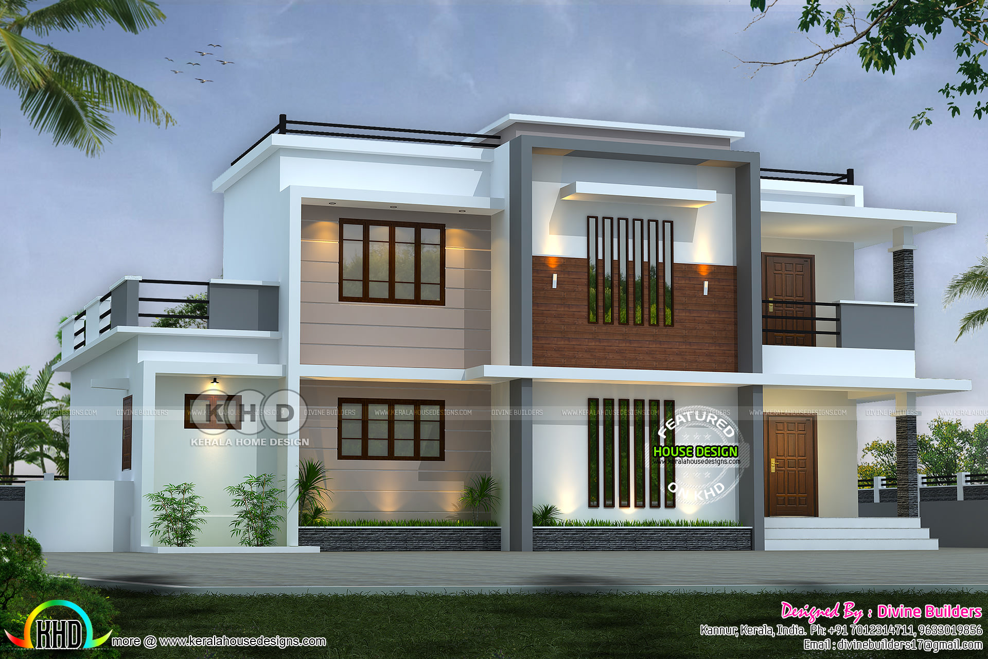 38 lakhs cost estimated 2325 square feet home kerala home design and floor plans for Kerala home designs and estimated price