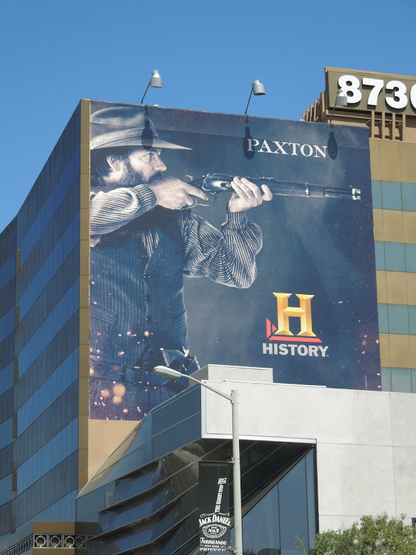 Bill Paxton Hatfields McCoys TV billboard