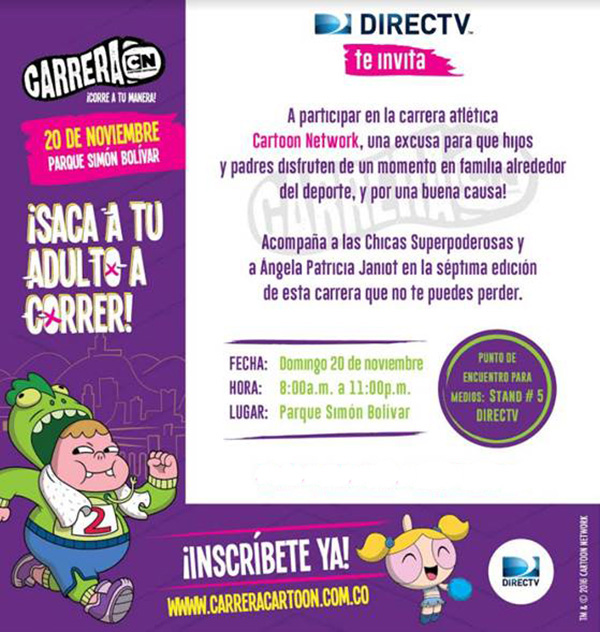 DIRECTV-Carrera-Cartoon-Network