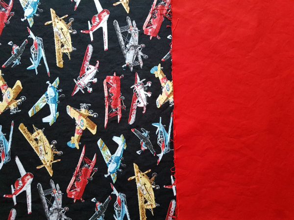 airplane fabric | DevotedQuilter.blogspot.com
