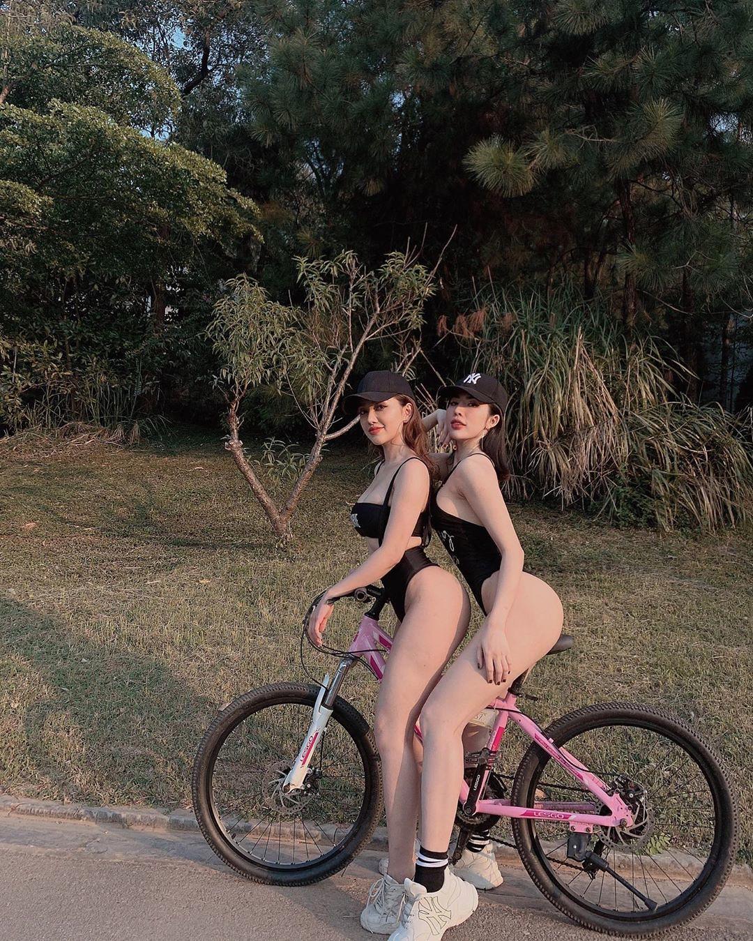 Cho anh đi xe đạp với