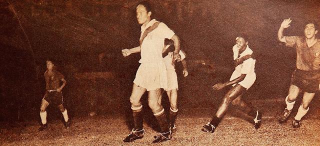 Chile y Perú en Campeonato Sudamericano de 1956