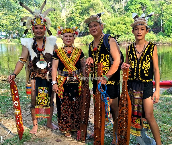 Up River People of Sarawak