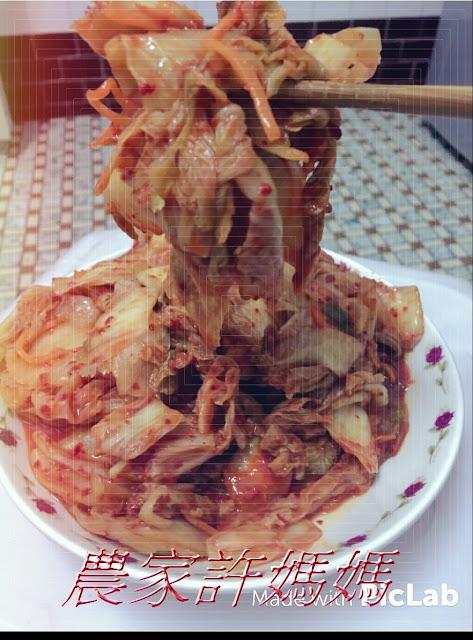 1香辣許媽媽韓式泡菜1